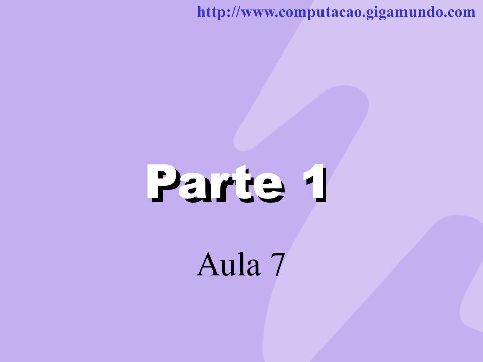 Parte 1 Parte 1 Aula 7