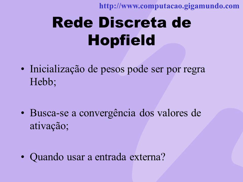 Rede Discreta de Hopfield