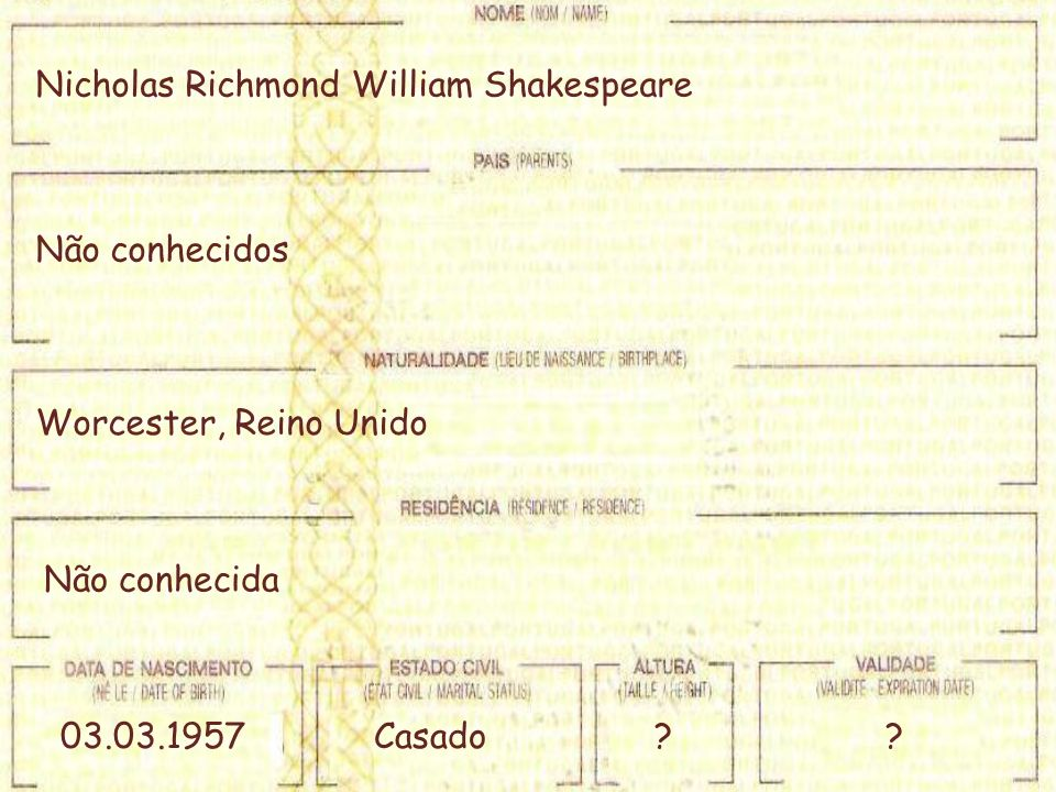 Nicholas Richmond William Shakespeare