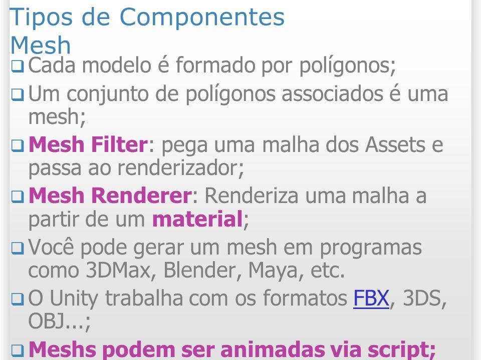 Tipos de Componentes Mesh