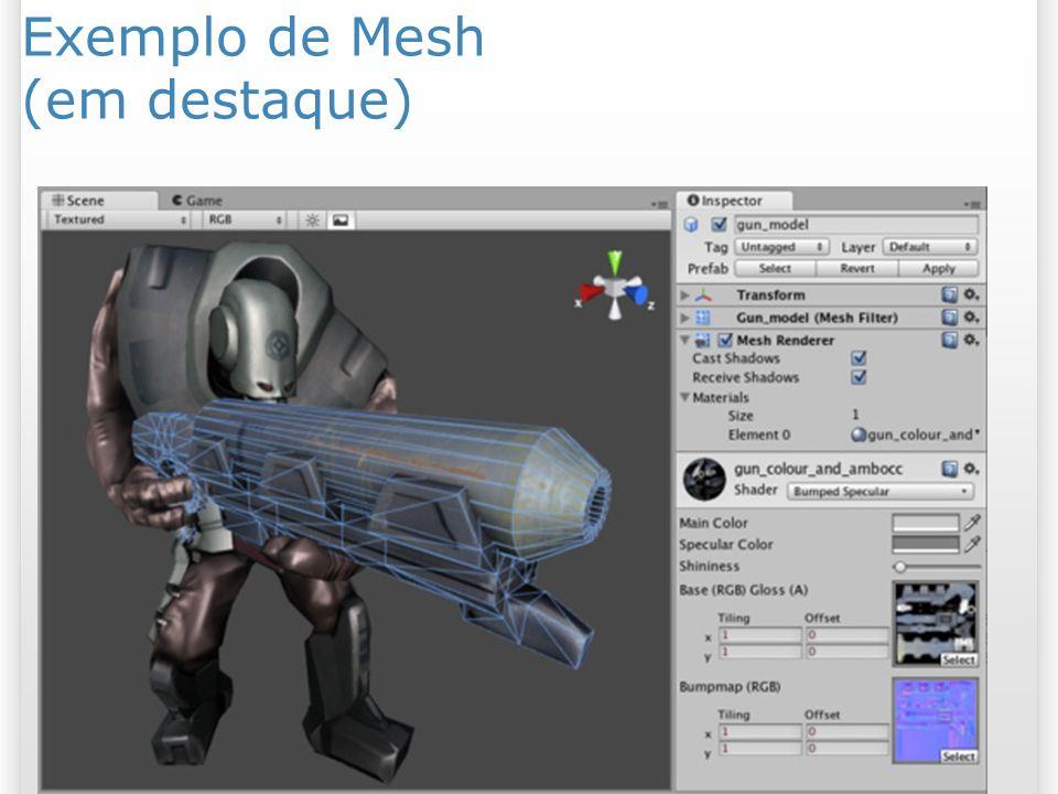 Exemplo de Mesh (em destaque)