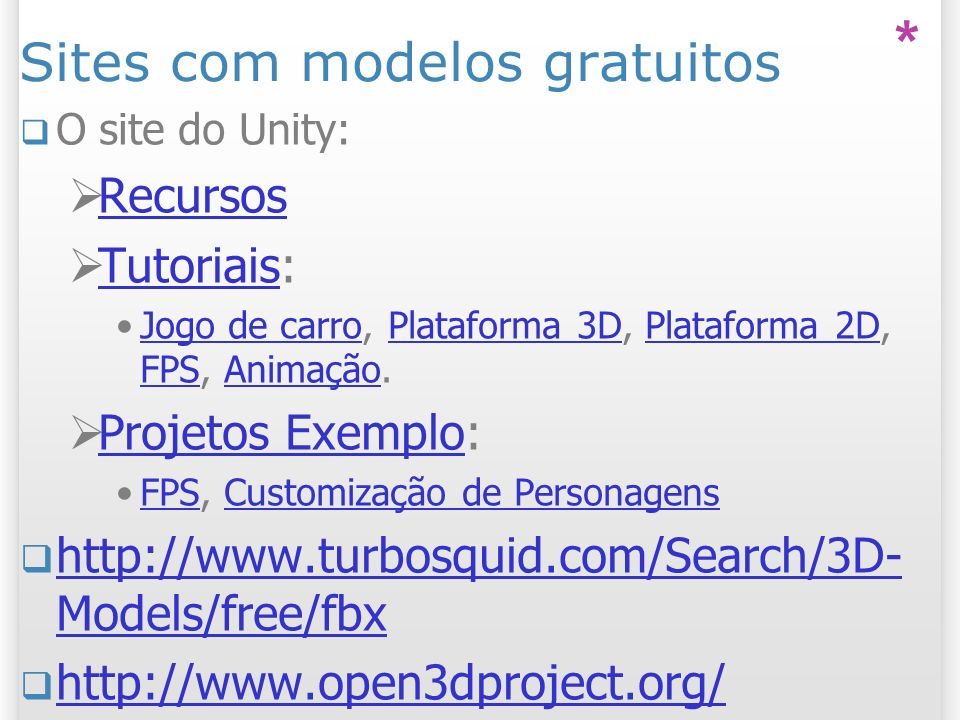 Sites com modelos gratuitos
