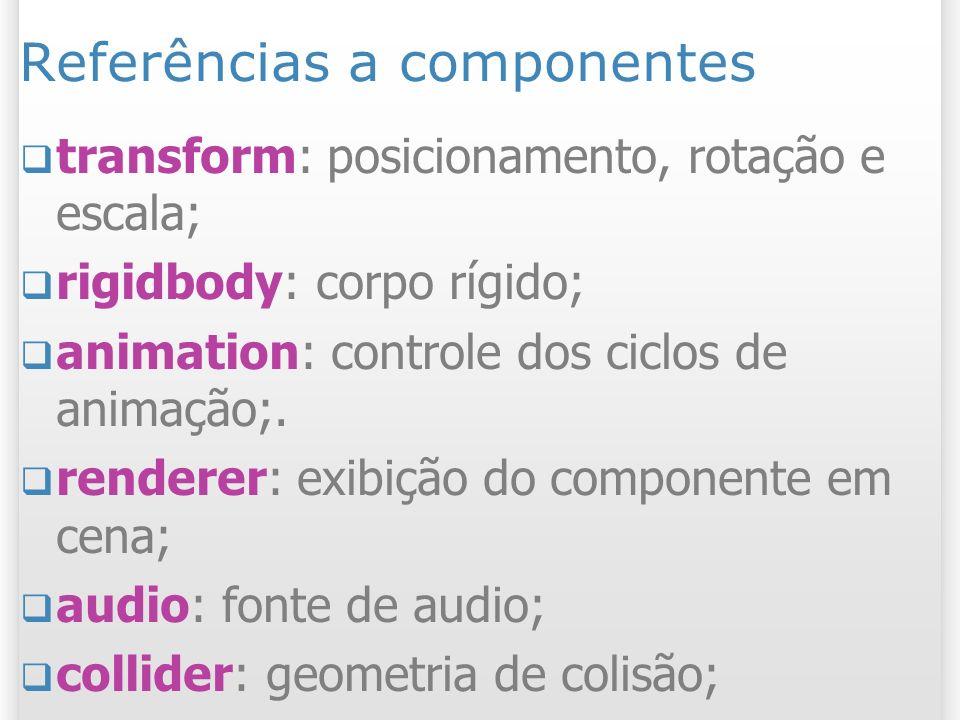 Referências a componentes