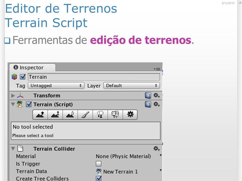 Editor de Terrenos Terrain Script