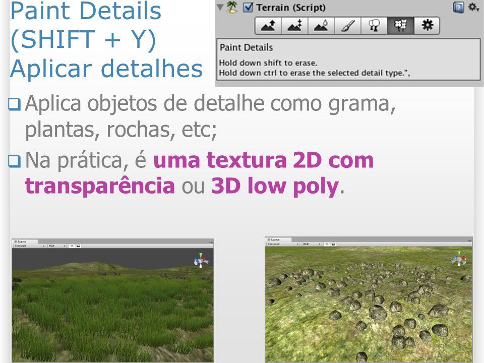Paint Details (SHIFT + Y) Aplicar detalhes