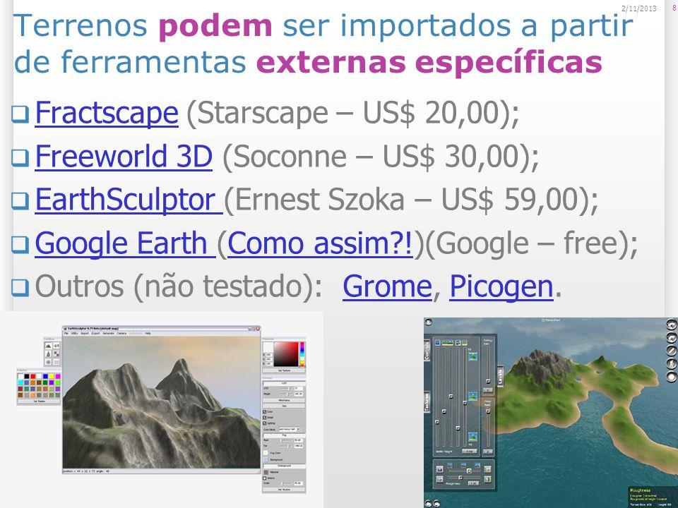 Fractscape (Starscape – US$ 20,00);