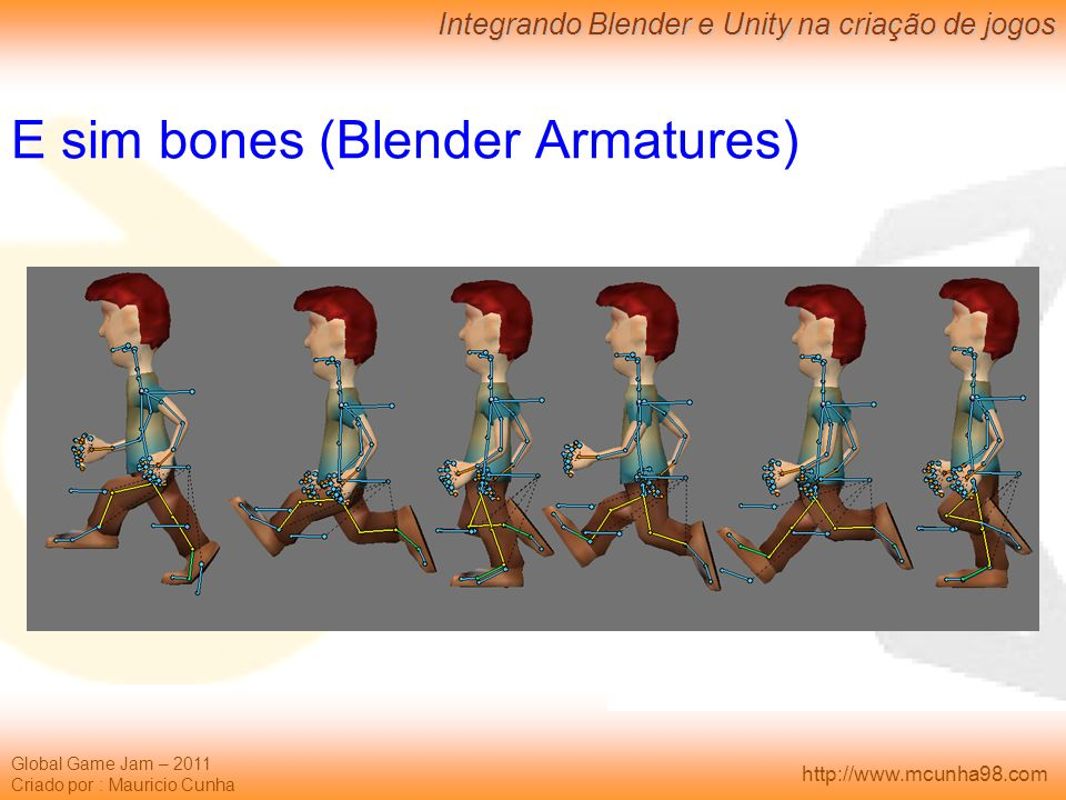 E sim bones (Blender Armatures)