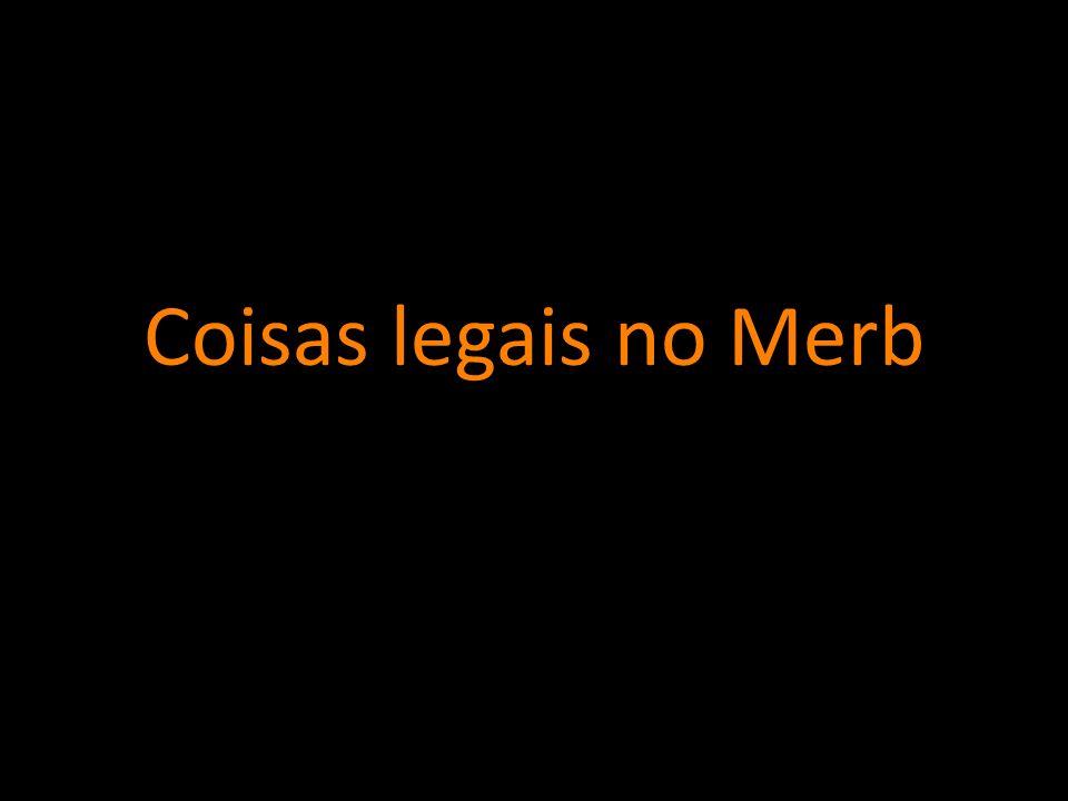 Coisas legais no Merb