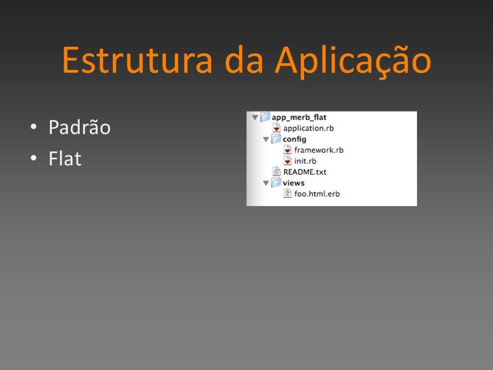 Estrutura da Aplicação