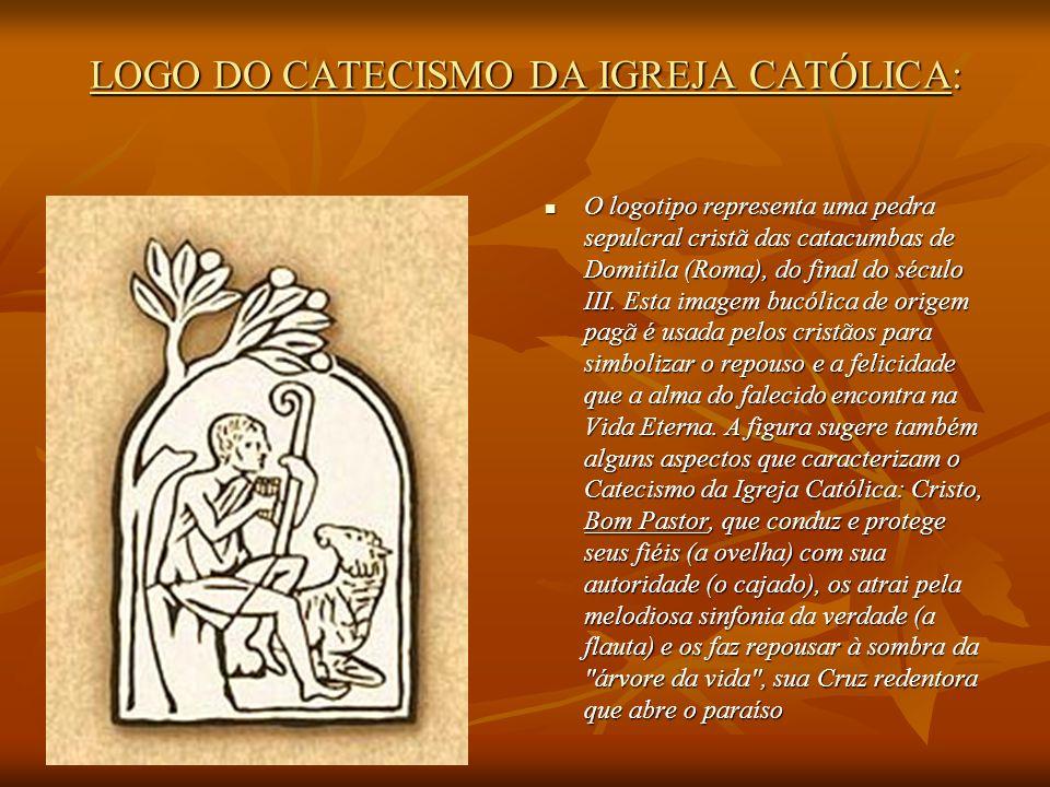 LOGO DO CATECISMO DA IGREJA CATÓLICA: