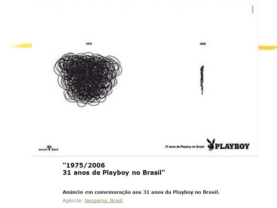 1975/2006 31 anos de Playboy no Brasil