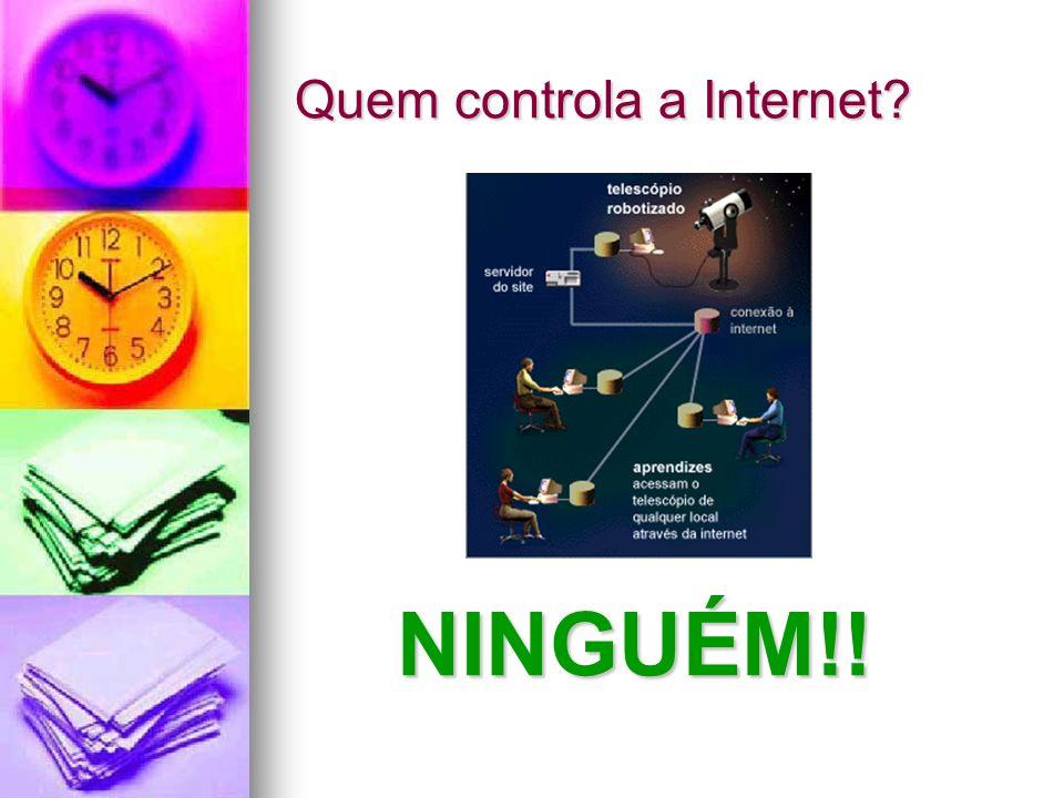 Quem controla a Internet