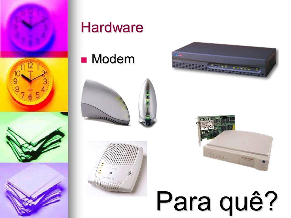 Hardware Modem Para quê