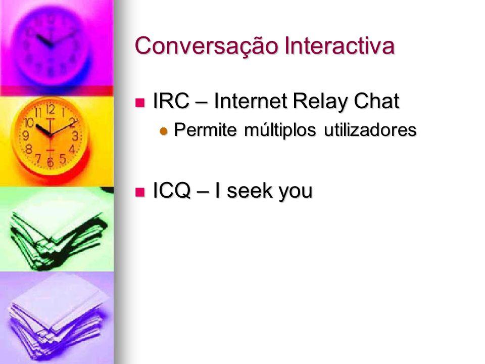 Conversação Interactiva