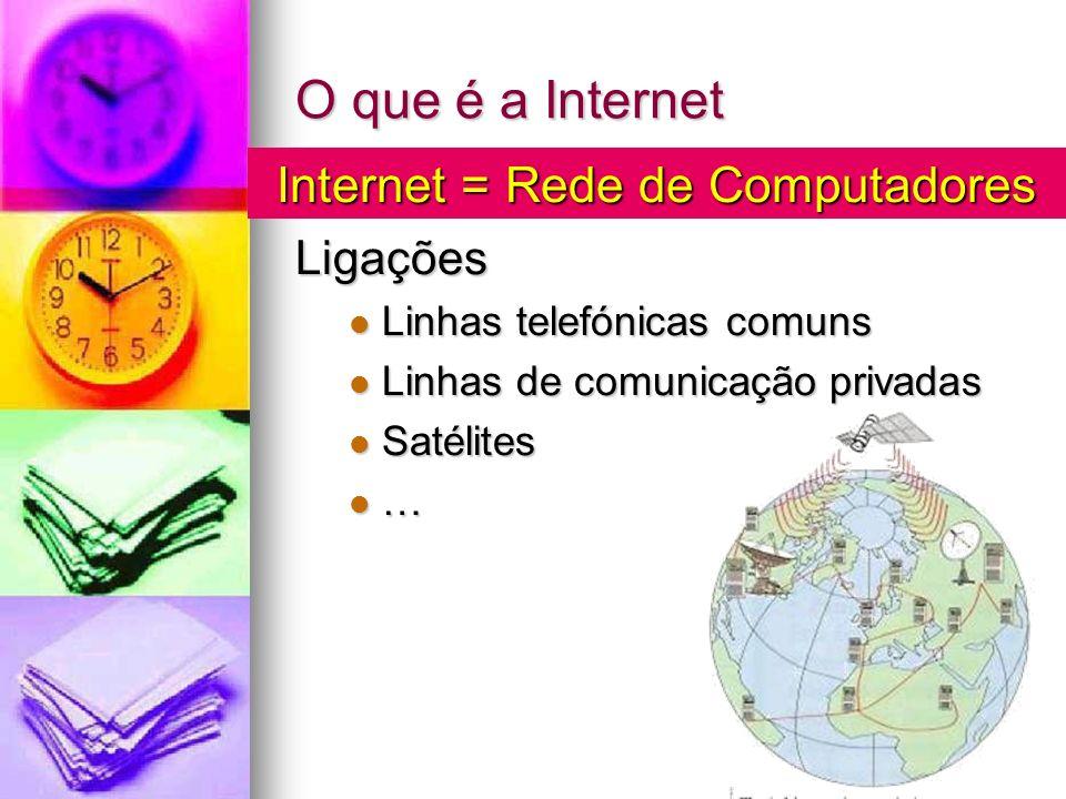 Internet = Rede de Computadores