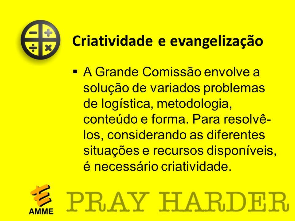 Criatividade e evangelização
