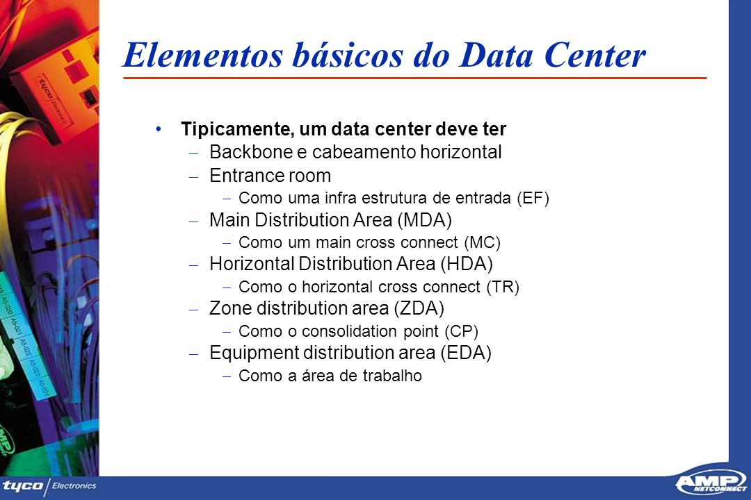 Elementos básicos do Data Center
