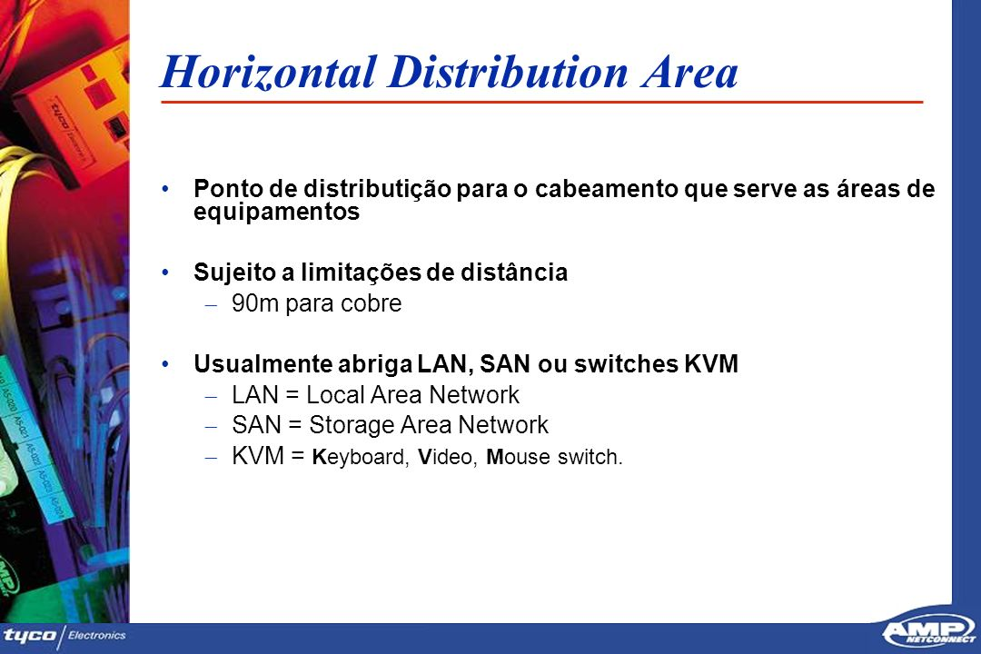 Horizontal Distribution Area