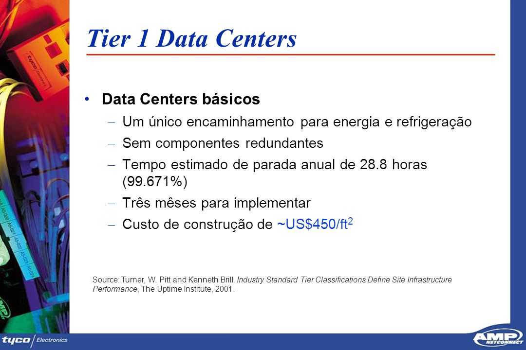 Tier 1 Data Centers Data Centers básicos