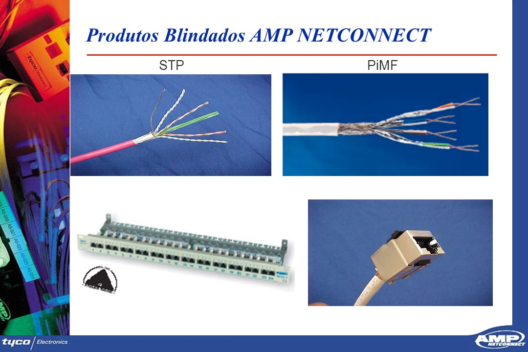 Produtos Blindados AMP NETCONNECT