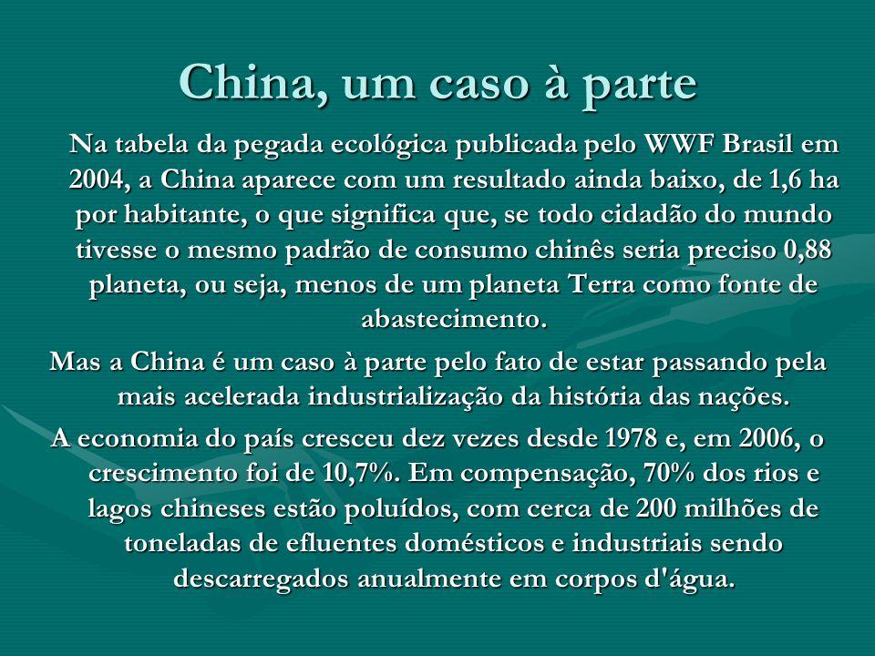 China, um caso à parte