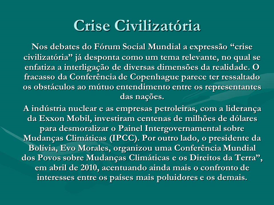 Crise Civilizatória