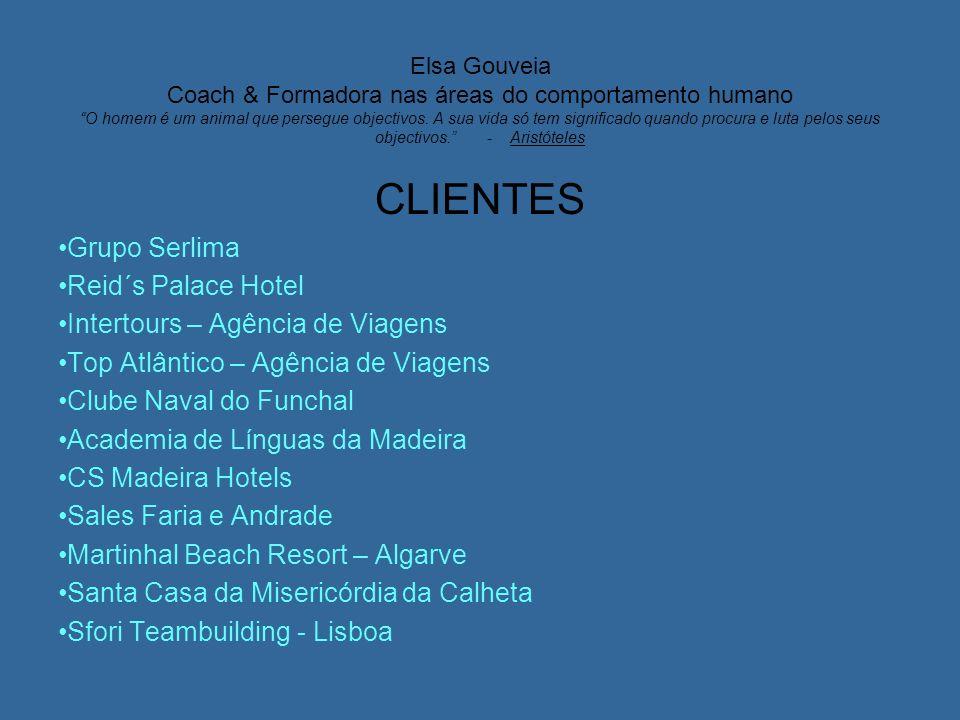 CLIENTES Grupo Serlima Reid´s Palace Hotel