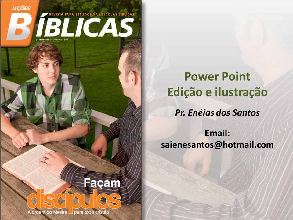 Power Point Edição e ilustração
