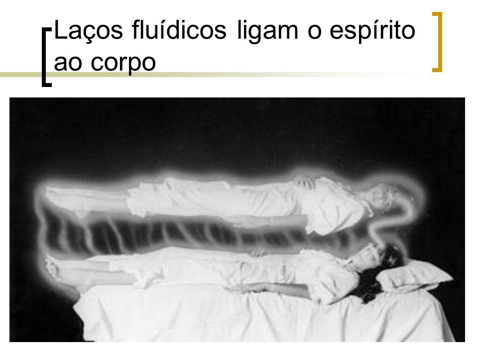 Laços fluídicos ligam o espírito ao corpo