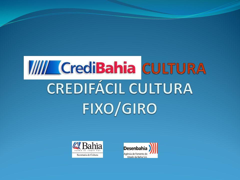 CULTURA CREDIFÁCIL CULTURA FIXO/GIRO