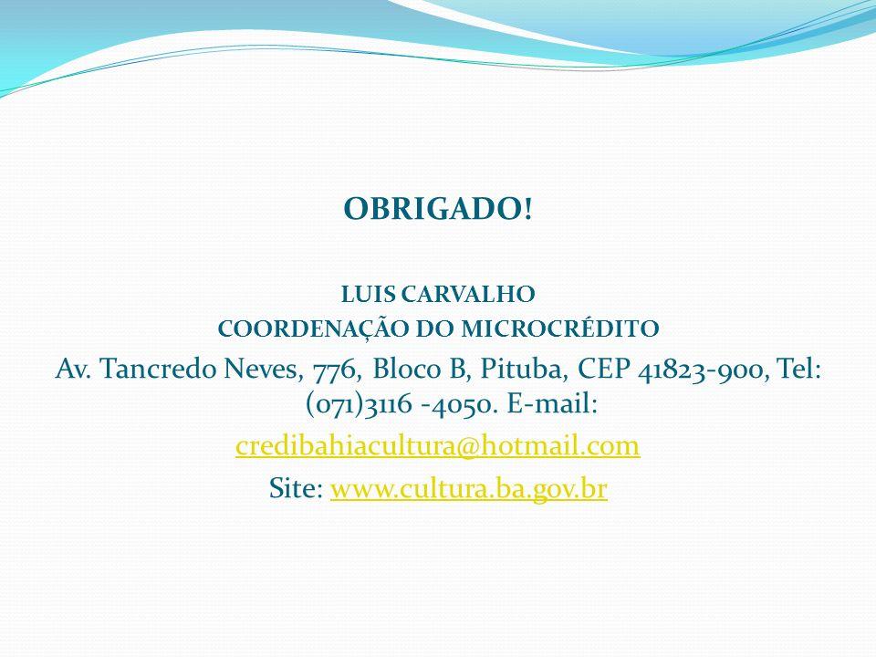 COORDENAÇÃO DO MICROCRÉDITO