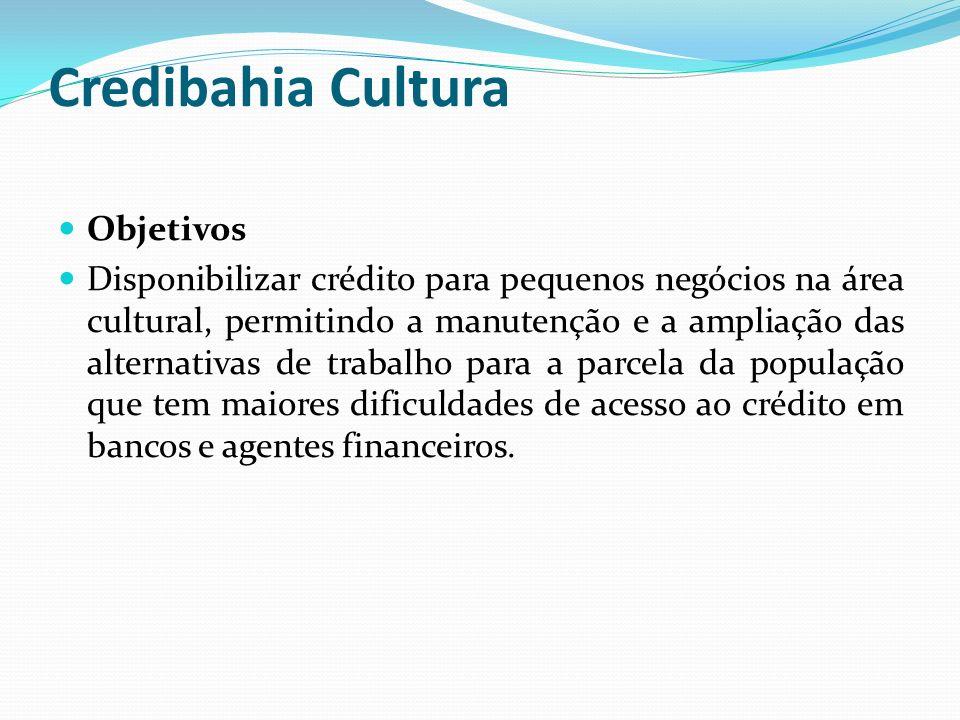 Credibahia Cultura Objetivos