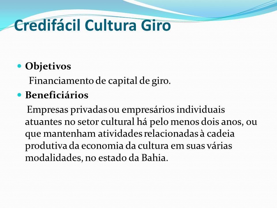 Credifácil Cultura Giro