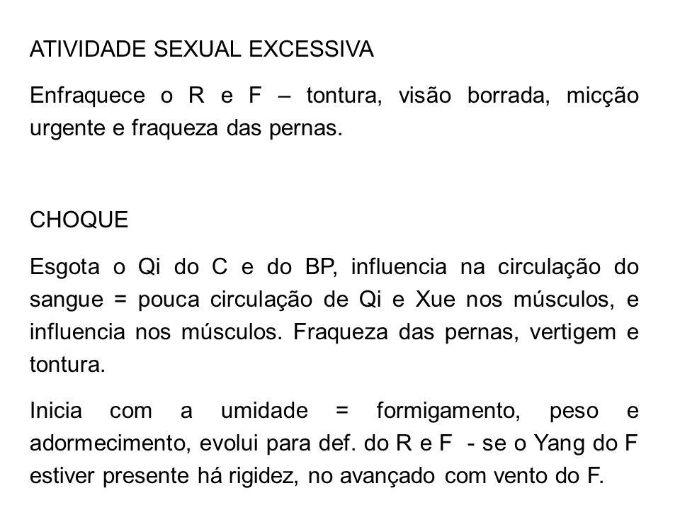 ATIVIDADE SEXUAL EXCESSIVA