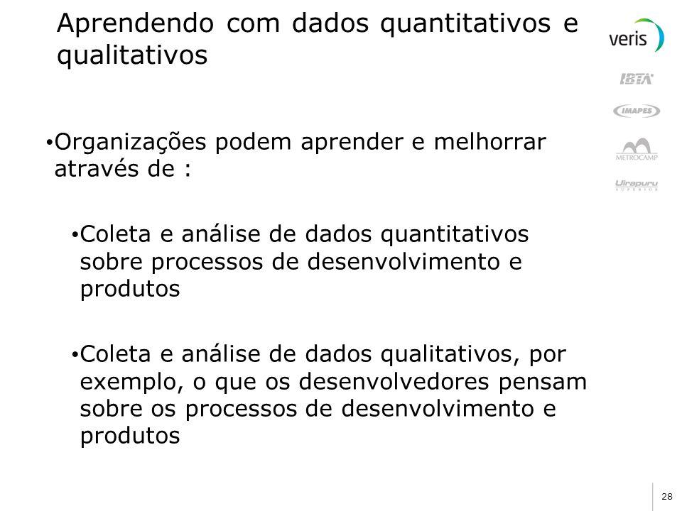 Aprendendo com dados quantitativos e qualitativos