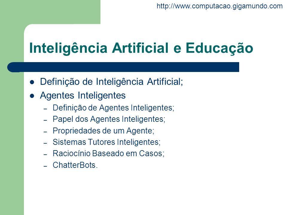 Inteligência Artificial e Educação