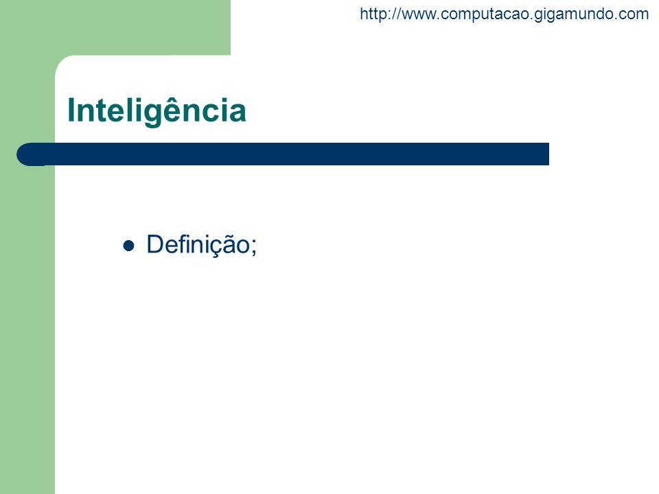 Inteligência Definição;