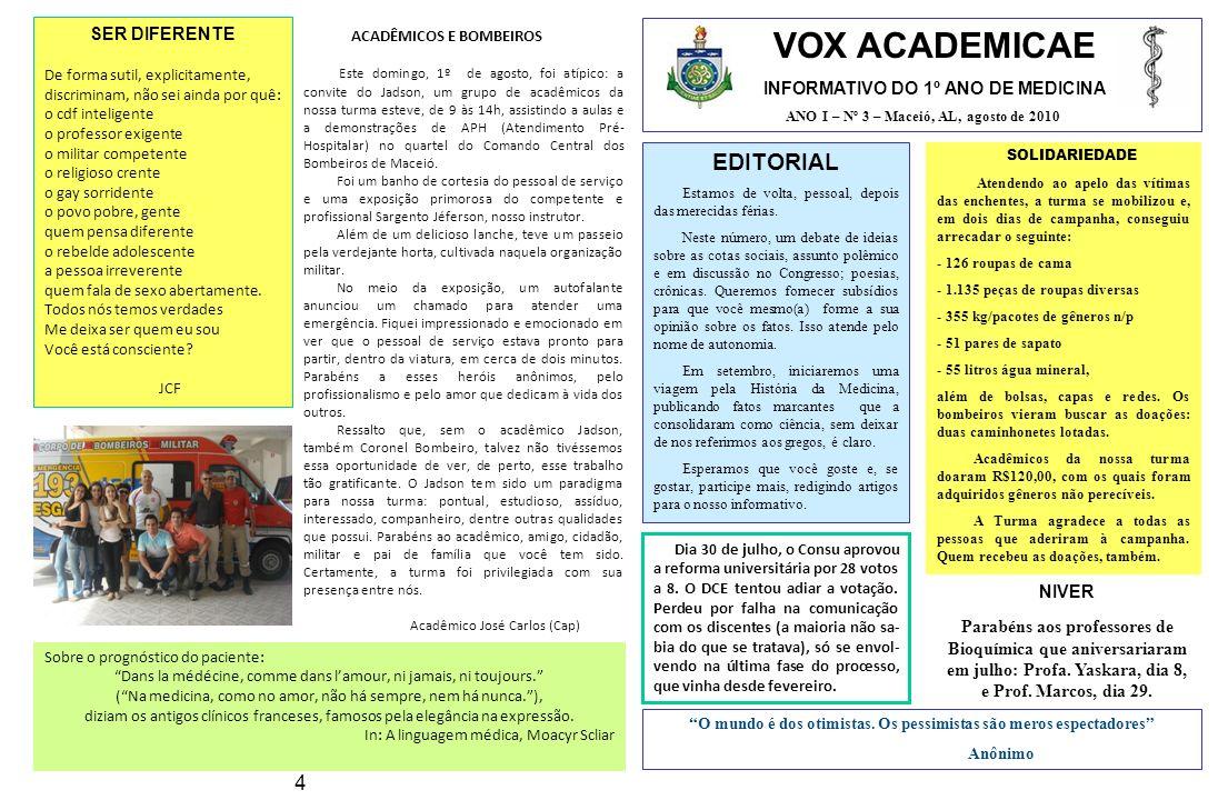 VOX ACADEMICAE EDITORIAL 4 SER DIFERENTE