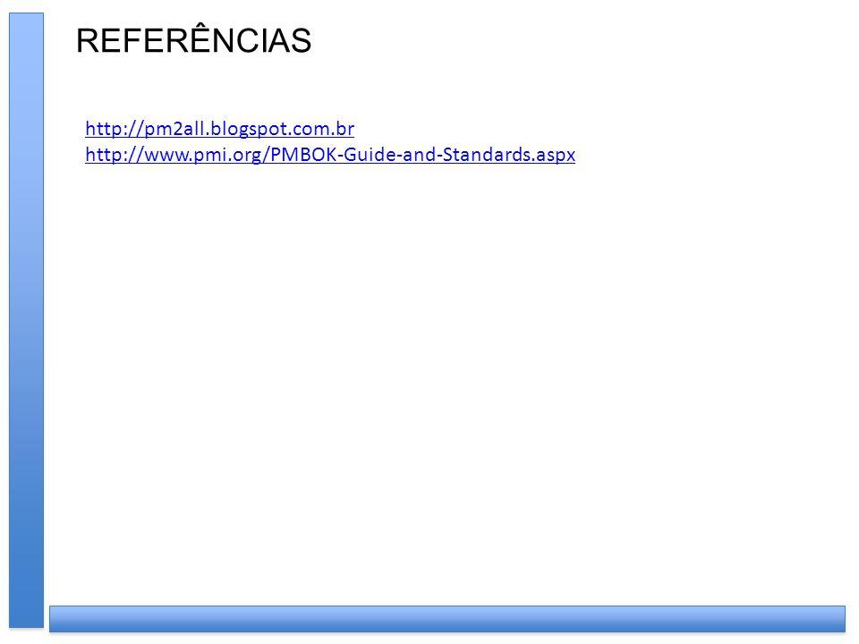 REFERÊNCIAS http://pm2all.blogspot.com.br