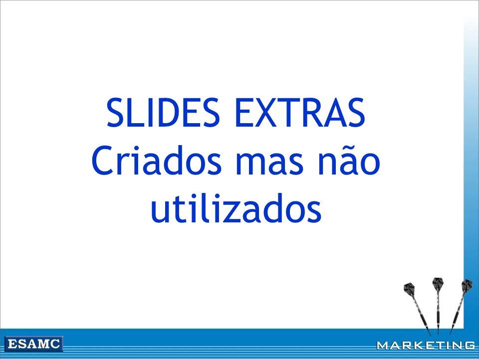 SLIDES EXTRAS Criados mas não utilizados
