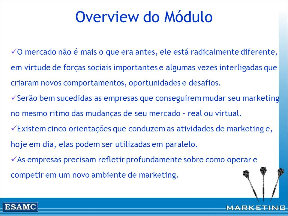 Overview do Módulo
