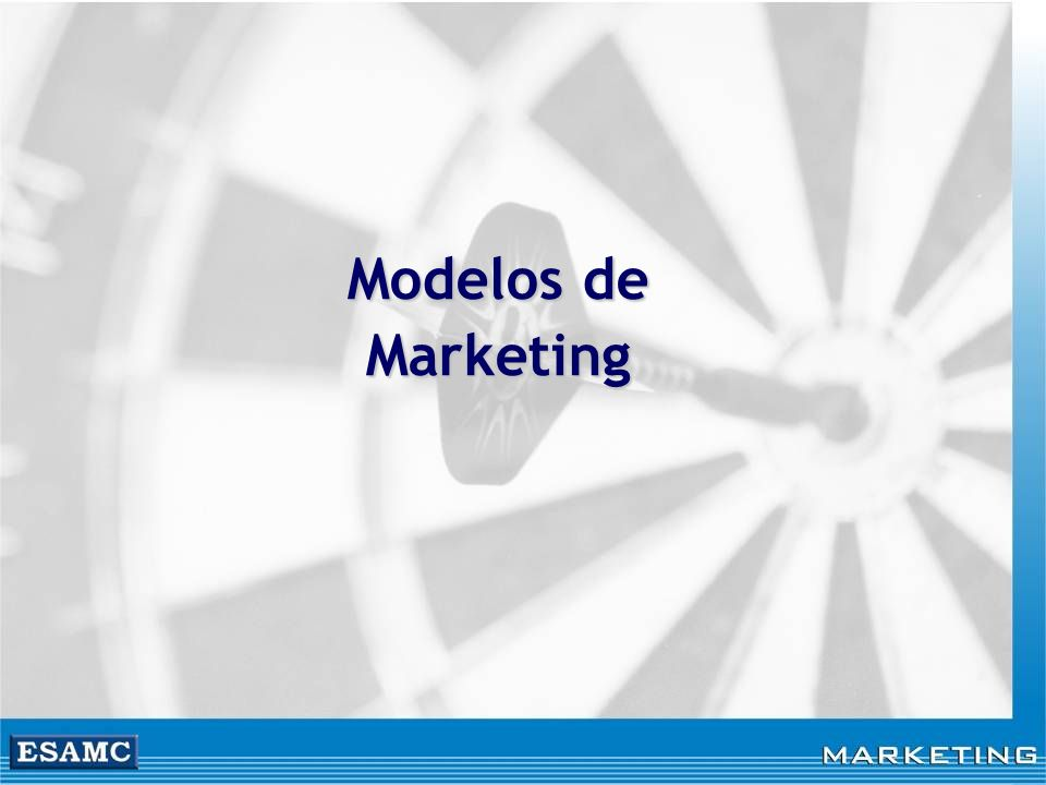 Modelos de Marketing