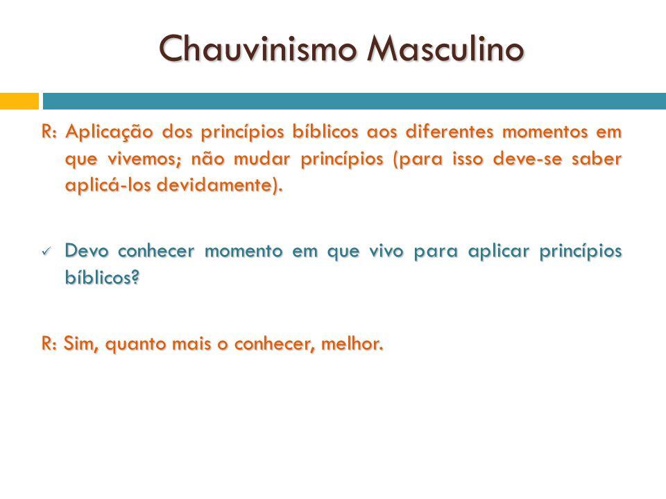 Chauvinismo Masculino