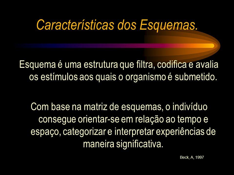 Características dos Esquemas.