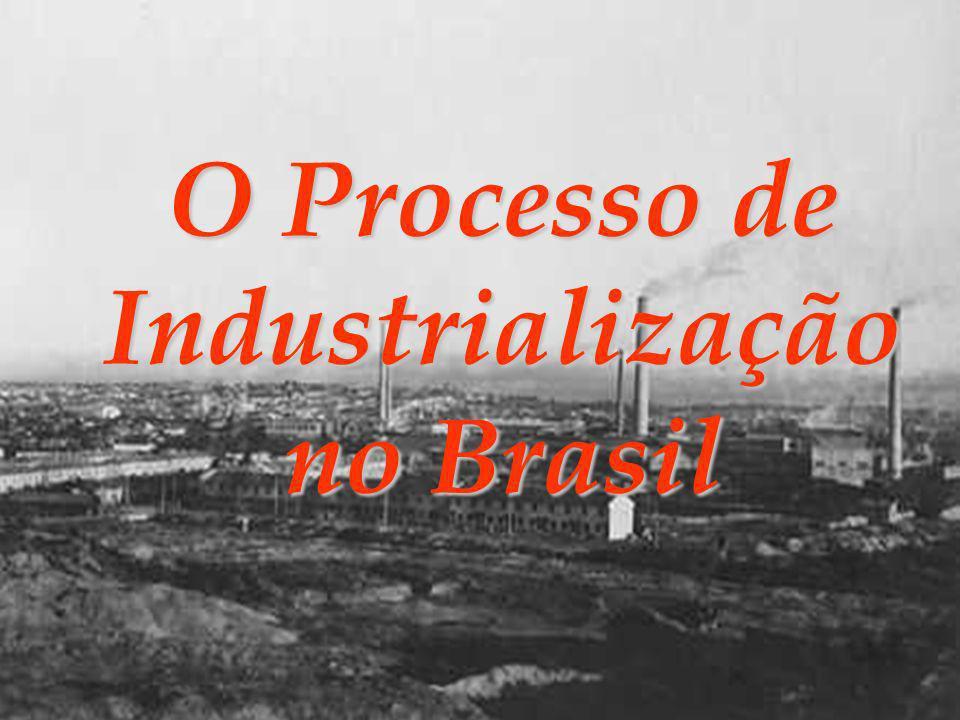 O Processo de Industrialização no Brasil