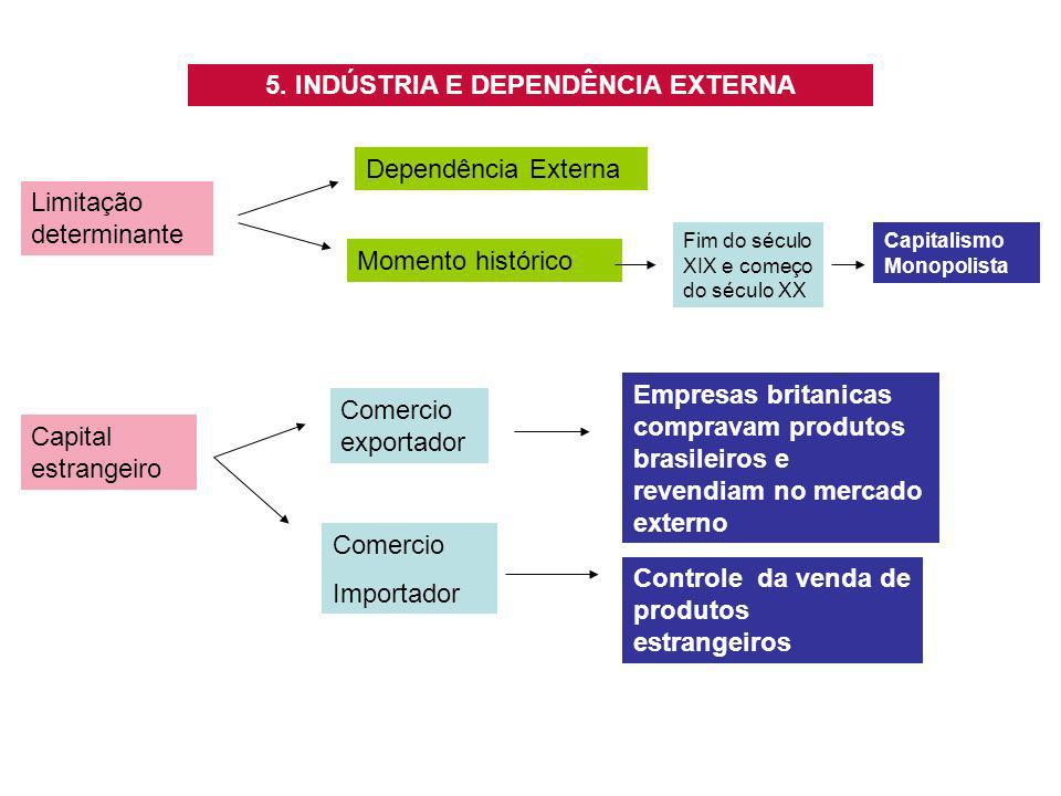 5. INDÚSTRIA E DEPENDÊNCIA EXTERNA