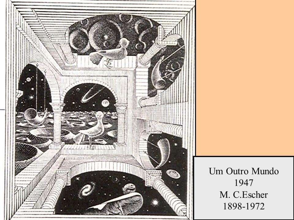 Um Outro Mundo 1947 M. C.Escher 1898-1972