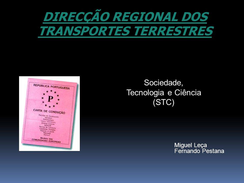 DIRECÇÃO REGIONAL DOS TRANSPORTES TERRESTRES