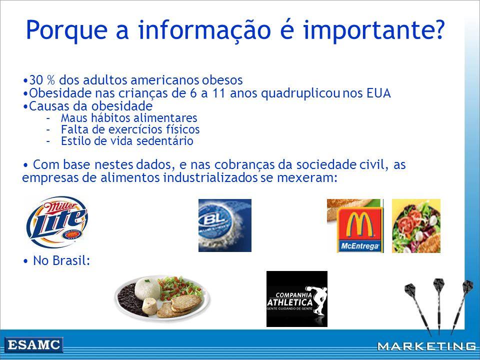 Porque a informação é importante