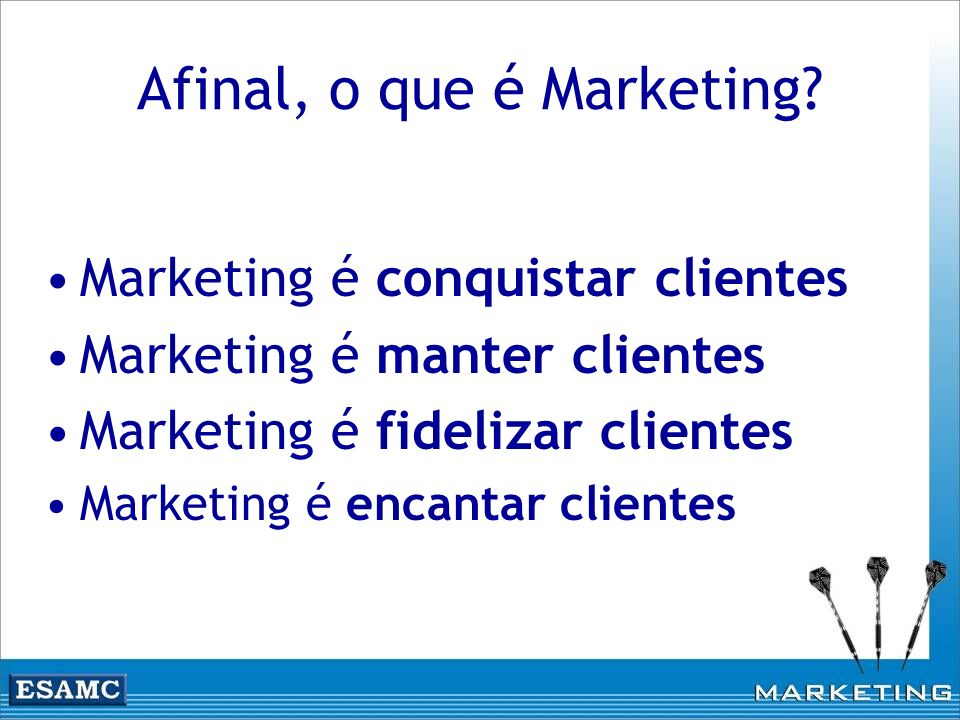 Afinal, o que é Marketing